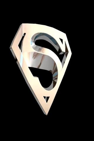 Superman Chrome LIVE WALLPAPER Android Themes