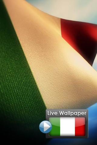 Flag of Italy Live Wallpaper Android Themes ...