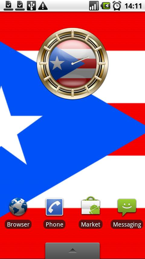 PUERTO RICO G10 Alarm Clock Android Personalization
