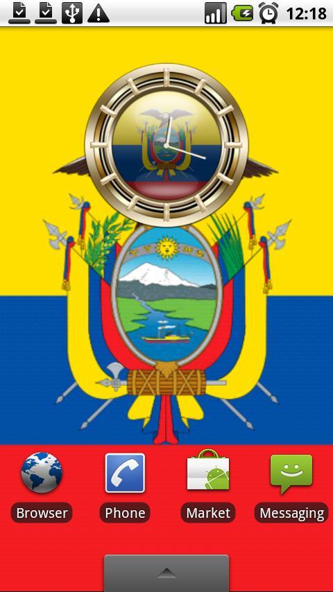 ECUADOR G10 Alarm Clock Android Personalization