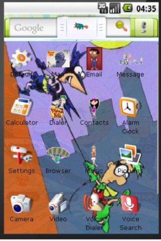 Phineas and Ferb Theme Android Themes