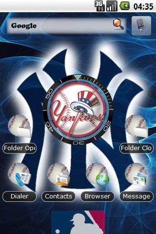 Yankees theme 2 Android Themes
