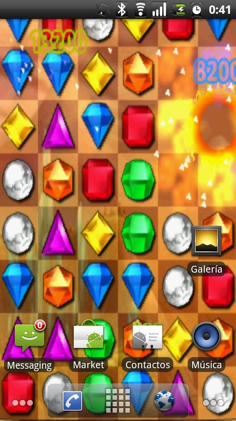 Bejeweled Blitz LiveW Android Themes