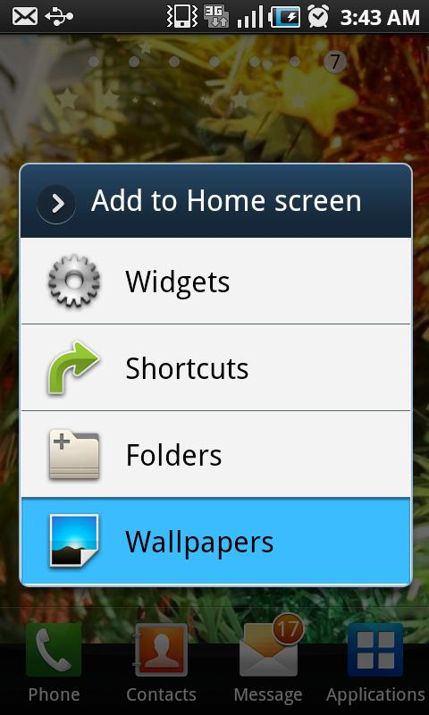 Live Wallpaper SM Star V Android Themes