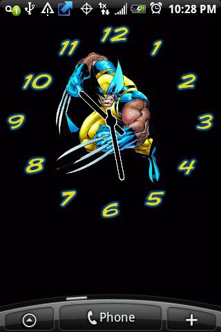 Wolverine Alarm Clock Widgets Android Themes