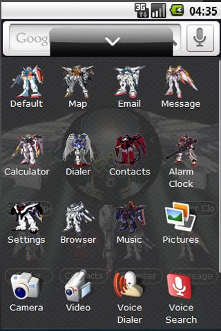 Gundam Wing Theme Android Themes