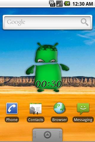 PetDroid Clock Android Themes