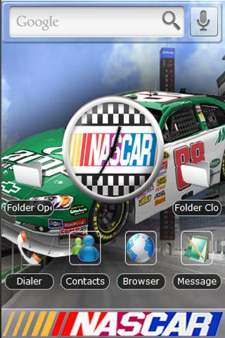 Nascar – Dale Theme Android Themes