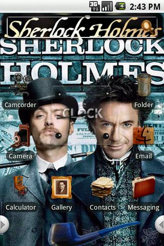 Theme:Sherlock Holmes Android Themes