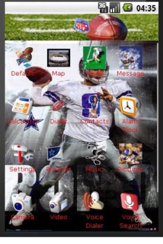 Dallas Cowboys Football Theme Android Themes