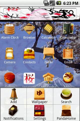 Theme:Japanese Wave Android Themes