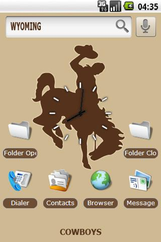 University of Wyoming Android Themes