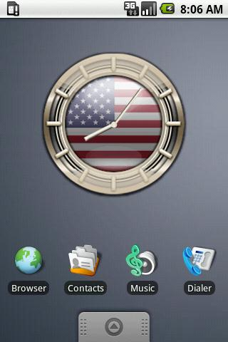 USA G10 Alarm Clock Android Themes