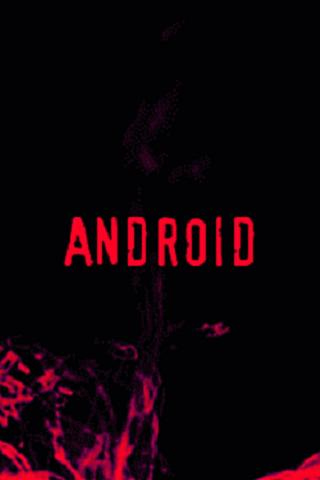 Android Red Paint LWP Android Themes