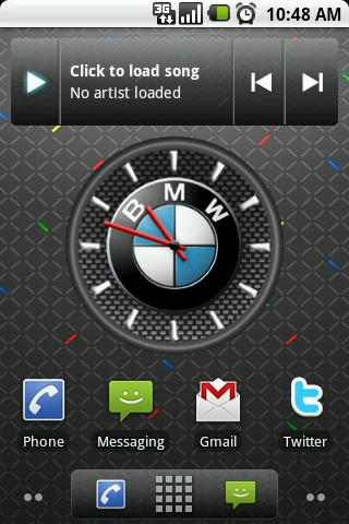 Bmw Big Clock Widget Android Themes Best Android Apps Free