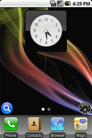 Iphone-ish Theme Android Themes