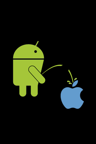 Android vs Apple LWP – Pee Android Themes
