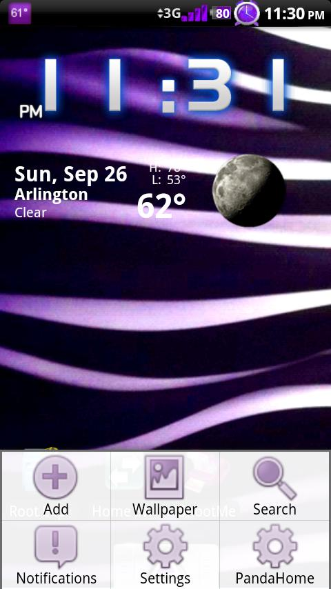 Purple Passion Theme Android Themes