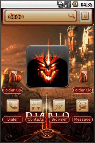 DiabloIII Android Personalization