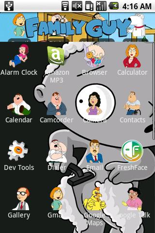 Family Guy Theme Android Themes