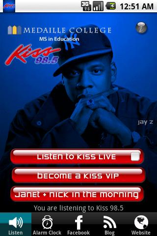 WKSE Kiss 98.5 Android Entertainment