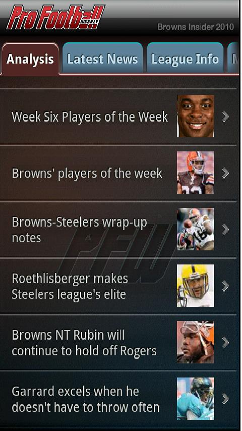 Browns Football – NFL News Android Sports