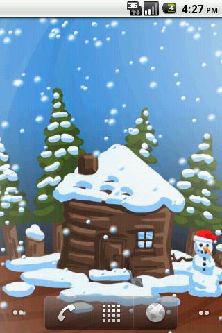 Christmas Snow-Globe LWP Android Themes