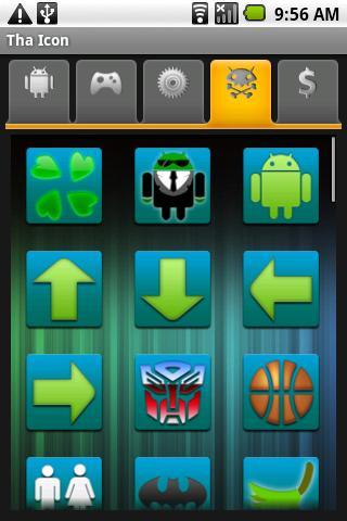 Tha Icon: Emerald Android Personalization