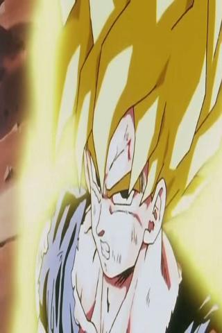 Goku SSJ Live Wallpaper Android Themes