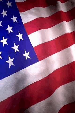 USA Flag Live Wallpaper – wave Android Themes