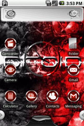 Theme:Droid Home Android Themes