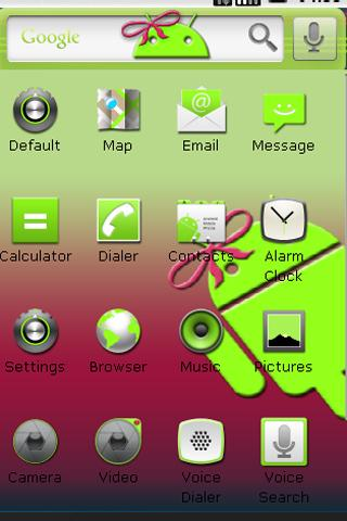 MissDroid II Home Theme Android Themes