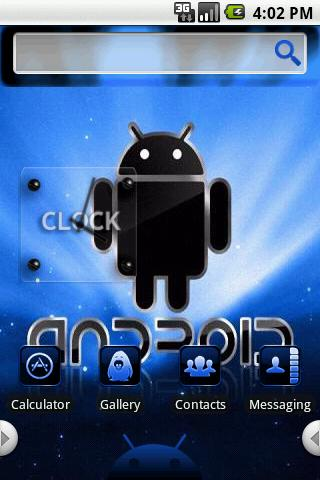 Theme:Blue Droid Android Themes