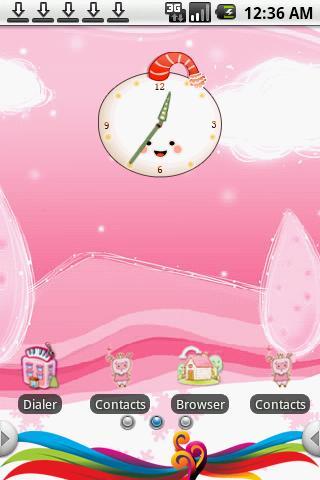 cartoon Theme Android Themes