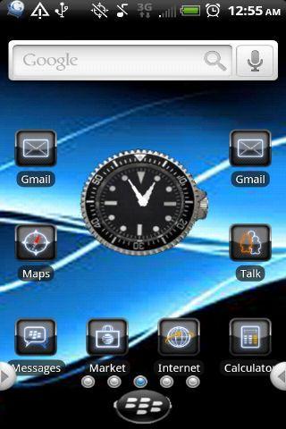 Blackberry Theme (Elegant) Android Themes