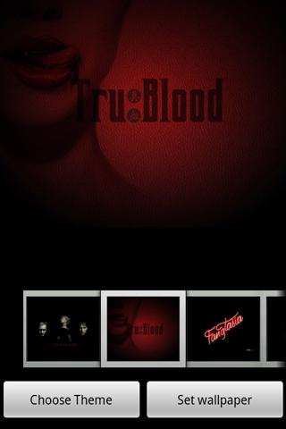 TrueBlood HQ Home Theme Android Themes