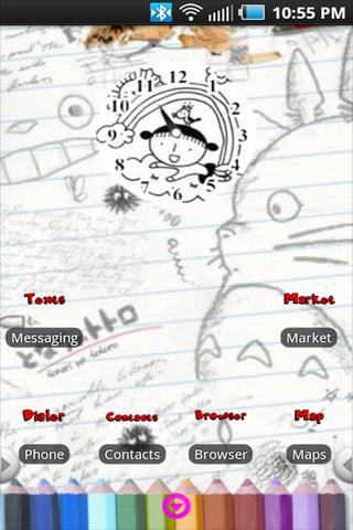 Doodles Theme Android Themes