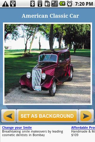 American ClassicCar Gallery Android Personalization