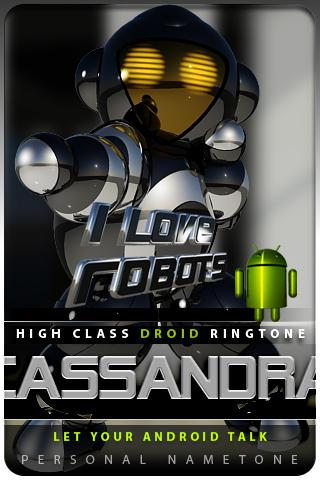 CASSANDRA nametone droid Android Themes