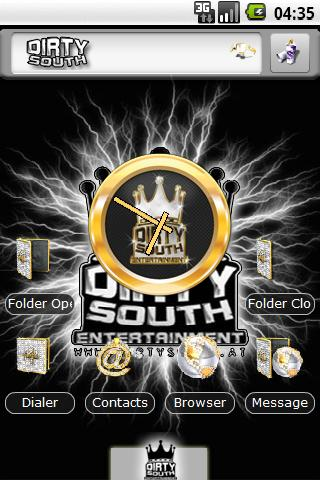 Theme: Dirtysouth.at 4 fans Android Themes