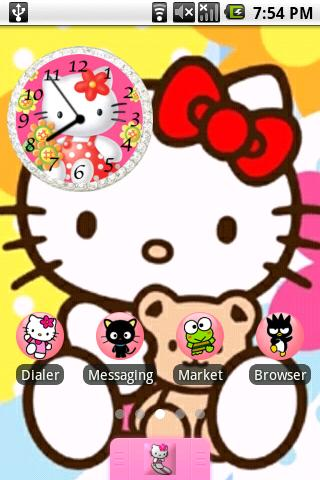 Hello Kitty Theme Bonus Android Themes best android apps