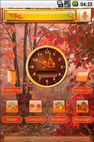 Autumn's Splendor Android Themes