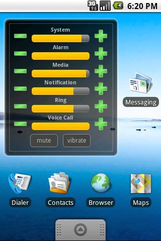 Volume Control Widget Android Tools