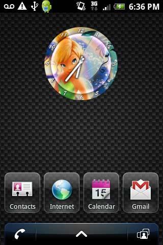 TINKERBELL Clock Widget V1 Android Tools