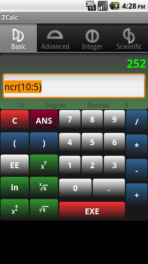 ZCalc Android Tools