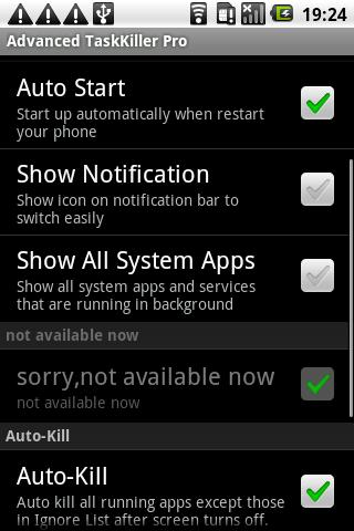 Fastest Task Killer Pro Android Tools