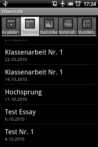 Oberstufe Android Tools