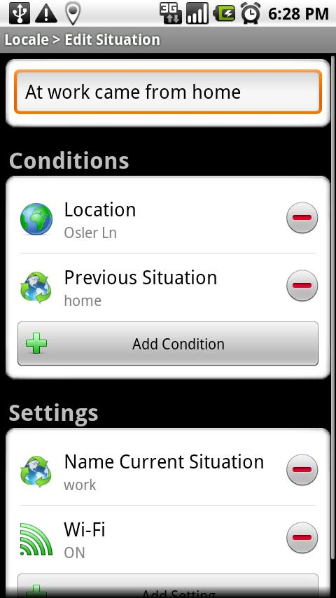 Locale Previous Situation Plug Android Tools
