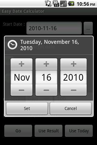 Easy Date Calculator Android Tools
