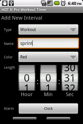 HIIT It Pro Workout Timer Android Tools